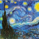 Gilles and Poirier's Starry Night